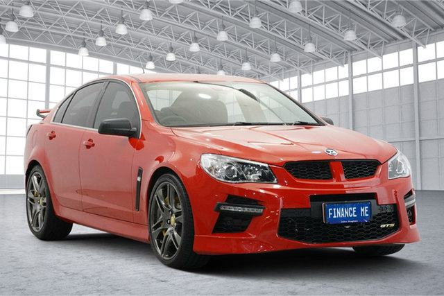 Used Holden Special Vehicles GTS Gen-F MY15 Victoria Park, 2015 Holden Special Vehicles GTS Gen-F MY15 Red 6 Speed Sports Automatic Sedan