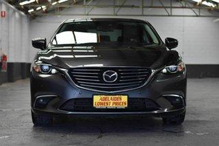 2017 Mazda 6 GL1031 GT SKYACTIV-Drive Grey 6 Speed Sports Automatic Sedan.