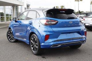 2020 Ford Puma JK 2021.25MY ST-Line V Desert Island Blue 7 Speed Sports Automatic Dual Clutch Wagon