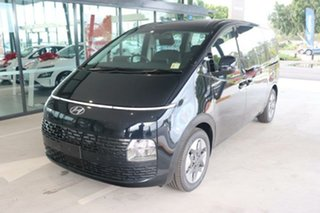 2021 Hyundai Staria US4.V1 MY22 2WD Moonlight Blue 8 Speed Sports Automatic Wagon.