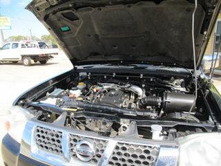 2005 Nissan Navara ST-R Black 5 Speed Manual Cab Chassis.