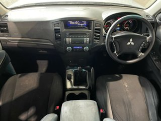 2006 Mitsubishi Pajero NS GLX Grey 5 Speed Manual Wagon