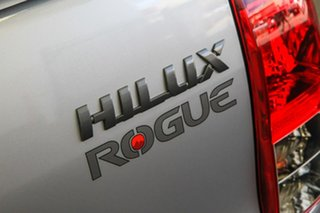 2019 Toyota Hilux GUN126R Rogue Double Cab Silver Sky 6 Speed Sports Automatic Utility