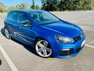 2012 Volkswagen Golf 1K MY12 R Blue 6 Speed Direct Shift Hatchback.