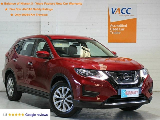 Used Nissan X-Trail T32 Series II ST X-tronic 2WD Moorabbin, 2019 Nissan X-Trail T32 Series II ST X-tronic 2WD Red 7 Speed Constant Variable Wagon