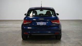 2017 Audi A1 8X MY17 Sportback S Tronic Scuba Blue 7 Speed Sports Automatic Dual Clutch Hatchback