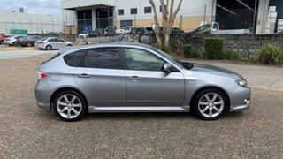 2007 Subaru Impreza MY08 RS (AWD) Grey 4 Speed Automatic Hatchback.