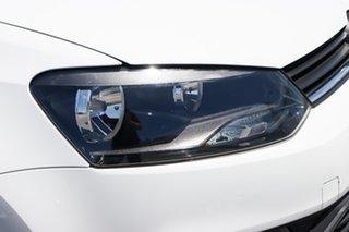 2015 Volkswagen Polo 6R MY15 66TSI DSG Trendline White 7 Speed Sports Automatic Dual Clutch