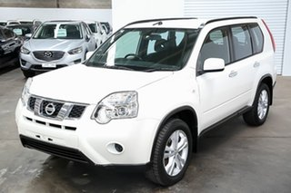 2013 Nissan X-Trail T31 Series V ST White 1 Speed Constant Variable Wagon.