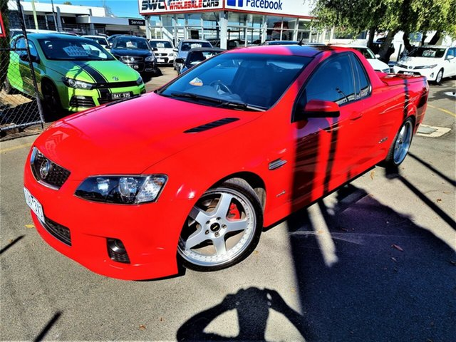 Used Holden Ute VE II MY12 SS Seaford, 2012 Holden Ute VE II MY12 SS Red 6 Speed Sports Automatic Utility