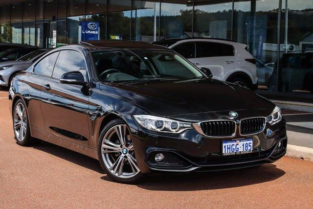 Used BMW 4 Series F32 420i Modern Line Gosnells, 2014 BMW 4 Series F32 420i Modern Line Black 8 Speed Sports Automatic Coupe