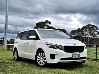 2018 Kia Carnival YP MY18 S White 6 Speed Sports Automatic Wagon.