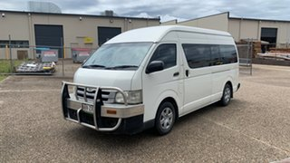 2009 Toyota HiAce KDH223R MY07 Up Commuter White 4 Speed Automatic Bus