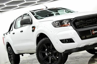 2017 Ford Ranger PX MkII MY17 Update XL 3.2 (4x4) White 6 Speed Automatic Crew Cab Utility.