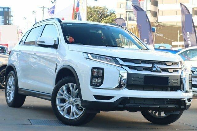 New Mitsubishi ASX XD MY21 ES Plus (2WD) Hillcrest, 2021 Mitsubishi ASX XD MY21 ES Plus (2WD) White Continuous Variable Wagon