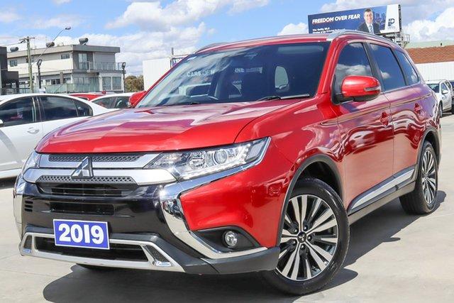 Used Mitsubishi Outlander ZL MY19 LS 2WD Coburg North, 2019 Mitsubishi Outlander ZL MY19 LS 2WD Red 6 Speed Constant Variable Wagon