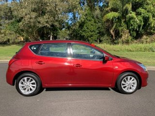 2013 Nissan Pulsar C12 ST Maroon Continuous Variable Hatchback.