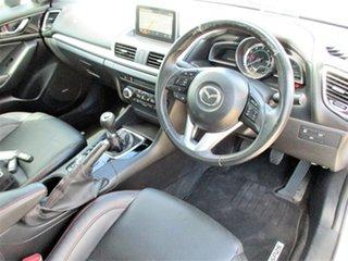 2016 Mazda 3 BM5236 SP25 SKYACTIV-MT GT White 6 Speed Manual Sedan.