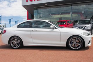 2017 BMW 2 Series F22 M240I White 8 Speed Sports Automatic Coupe.