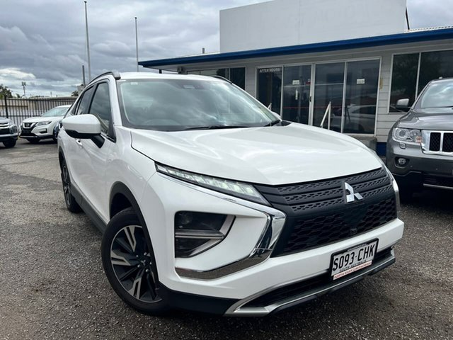 Used Mitsubishi Eclipse Cross YB MY21 LS 2WD Hillcrest, 2020 Mitsubishi Eclipse Cross YB MY21 LS 2WD White 8 Speed Constant Variable Wagon