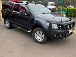 2015 Ford Ranger PX XLT 3.2 (4x4) Grey 6 Speed Automatic Double Cab Pick Up.