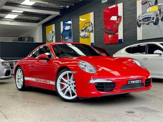Used Porsche 911 991 Carrera S Glebe, 2013 Porsche 911 991 Carrera S Red Sports Automatic Dual Clutch Coupe