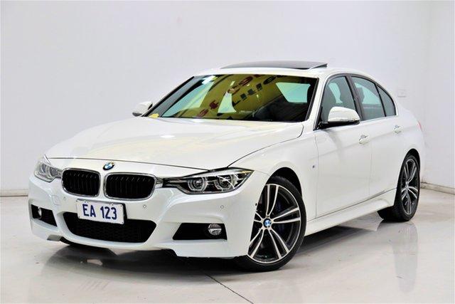 Used BMW 3 Series F30 LCI 330i Luxury Line Brooklyn, 2016 BMW 3 Series F30 LCI 330i Luxury Line White 8 Speed Sports Automatic Sedan