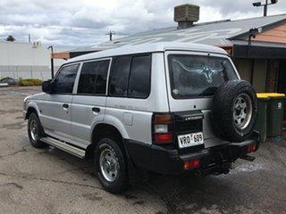 1993 Mitsubishi Pajero NH GLX Silver 5 Speed Manual Wagon