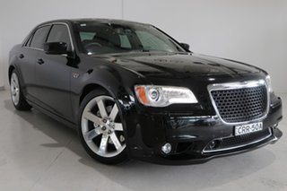2012 Chrysler 300 LX MY13 SRT-8 Black 5 Speed Sports Automatic Sedan.