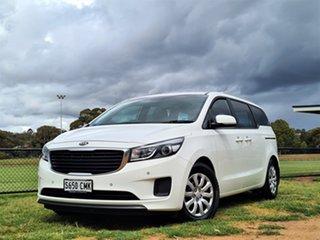 2018 Kia Carnival YP MY18 S White 6 Speed Sports Automatic Wagon