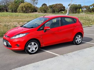 2012 Ford Fiesta WT CL PwrShift Red 6 Speed Sports Automatic Dual Clutch Hatchback