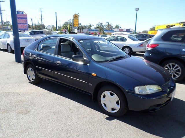 Used Ford Laser Capalaba, 1998 Ford Laser Blue Automatic Hatchback