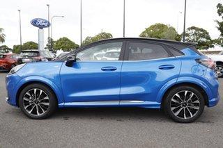 2020 Ford Puma JK 2021.25MY ST-Line V Desert Island Blue 7 Speed Sports Automatic Dual Clutch Wagon.