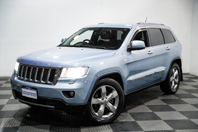 Used Jeep Grand Cherokee WK MY2013 Limited Edgewater, 2013 Jeep Grand Cherokee WK MY2013 Limited Blue 5 Speed Sports Automatic Wagon