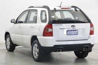 2010 Kia Sportage KM2 MY10 LX White 4 Speed Automatic Wagon.