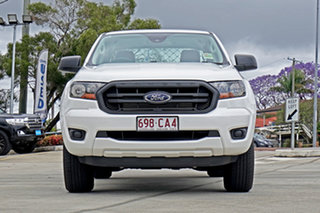 2021 Ford Ranger PX MkIII 2021.25MY XL White 6 Speed Manual Double Cab Chassis.