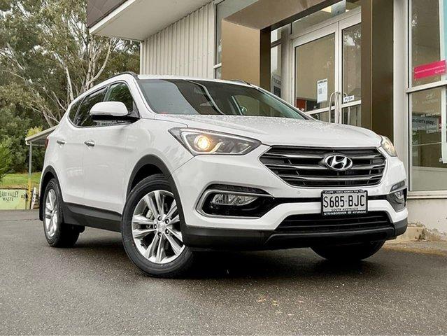 Used Hyundai Santa Fe DM3 MY16 Elite Clare, 2016 Hyundai Santa Fe DM3 MY16 Elite White 6 Speed Sports Automatic Wagon