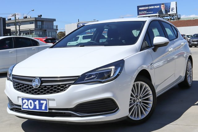 Used Holden Astra BK MY17 R Coburg North, 2017 Holden Astra BK MY17 R White 6 Speed Sports Automatic Hatchback