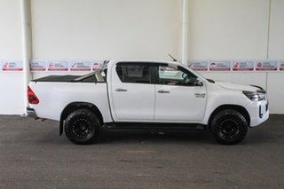 2020 Toyota Hilux GUN126R SR5 Double Cab Glacier White 6 Speed Sports Automatic Utility