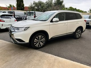 2020 Mitsubishi Outlander ZL MY21 LS AWD White 6 Speed Constant Variable Wagon