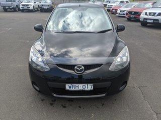 2008 Mazda 2 DE10Y1 Neo Brilliant Black 5 Speed Manual Hatchback.