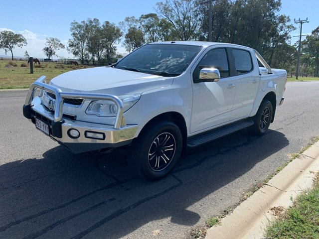 Pre-Owned Holden Colorado RG MY15 LTZ (4x4) Oakey, 2015 Holden Colorado RG MY15 LTZ (4x4) White 6 Speed Automatic Crew Cab Pickup