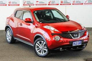2013 Nissan Juke F15 ST (FWD) Continuous Variable Wagon.