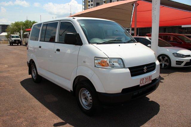 Pre-Owned Suzuki APV Darwin, 2016 Suzuki APV White 5 Speed Manual Van