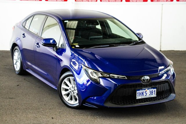 Pre-Owned Toyota Corolla Mzea12R Ascent Sport Rockingham, 2020 Toyota Corolla Mzea12R Ascent Sport Lunar Blue 10 Speed Constant Variable Sedan