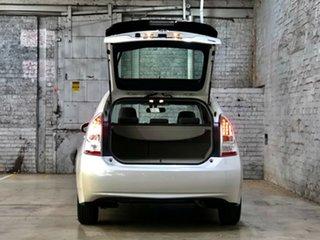 2010 Toyota Prius ZVW30R White 1 Speed Constant Variable Liftback Hybrid