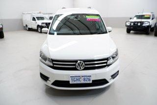 2017 Volkswagen Caddy 2K MY17.5 TSI220 Maxi DSG Comfortline White 7 Speed.