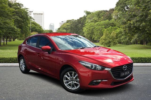 Used Mazda 3 BN5476 Touring SKYACTIV-MT Paradise, 2018 Mazda 3 BN5476 Touring SKYACTIV-MT Red 6 Speed Manual Hatchback