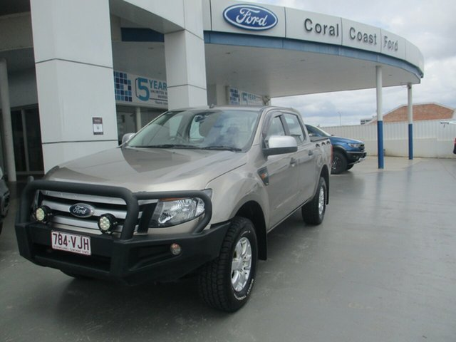 Used Ford Ranger PX XLS 3.2 (4x4) Bundaberg, 2014 Ford Ranger PX XLS 3.2 (4x4) Gold 6 Speed Automatic Double Cab Pick Up