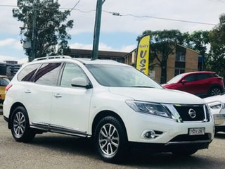 2016 Nissan Pathfinder R52 MY16 ST-L X-tronic 2WD White 1 Speed Constant Variable Wagon